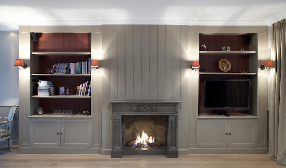 Interieur Strak Klassiek : Klassieke woonkamer laetitia deknudt interieur