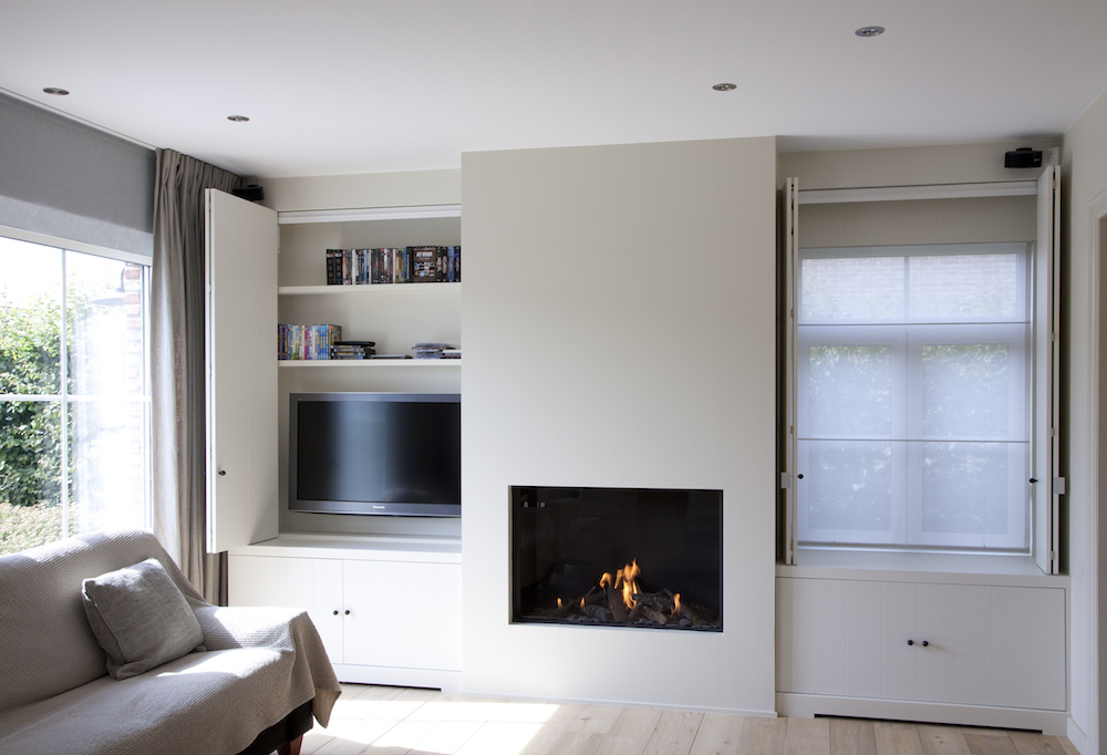 Landelijk strakke leefruimte laetitia deknudt interieur for Eetkamerstoelen landelijk interieur